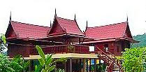 Thai traditional bungalow